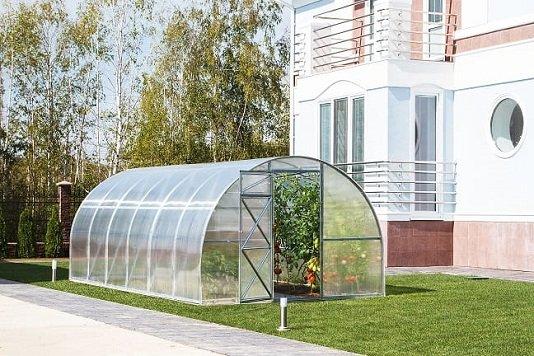 Duże szklarnie ogrodowe 3x8m