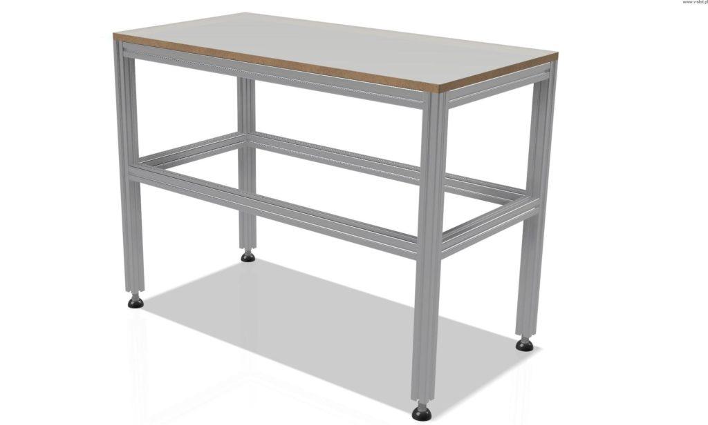 Stół roboczy z profili aluminiowych – idealne rozwiązanie dla każdego majsterkowicza