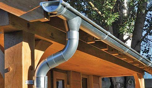 Aluminiowy system rynnowy