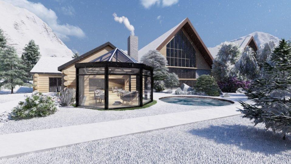 Ogrody zimowe, czyli odrobina lata w środku zimy