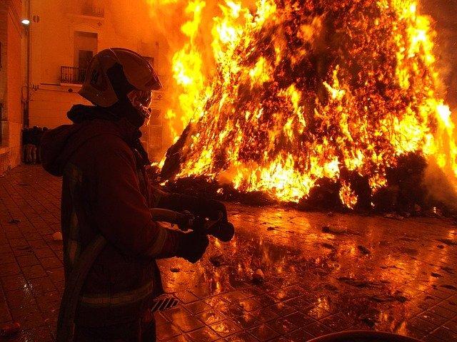 Zabezpieczenie przeciwpożarowe budynków